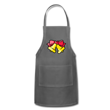Load image into Gallery viewer, Bells Adjustable Apron - charcoal