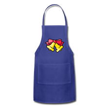 Load image into Gallery viewer, Bells Adjustable Apron - royal blue