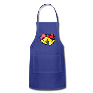 Bells Adjustable Apron - royal blue
