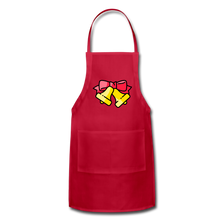 Load image into Gallery viewer, Bells Adjustable Apron - red