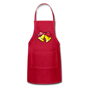 Bells Adjustable Apron - red