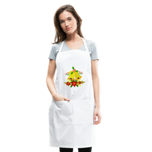 Load image into Gallery viewer, Christmas Decorations Adjustable Apron - white