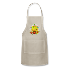 Load image into Gallery viewer, Christmas Decorations Adjustable Apron - natural