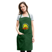 Load image into Gallery viewer, Christmas Decorations Adjustable Apron - forest green