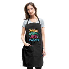 Load image into Gallery viewer, Shine Bright Adjustable Apron - black