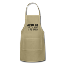 Load image into Gallery viewer, Awesome Adjustable Apron - khaki