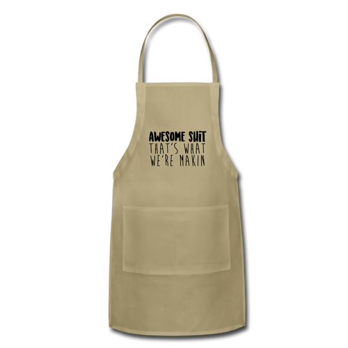 Awesome Adjustable Apron - khaki