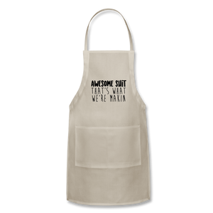 Awesome Adjustable Apron - natural