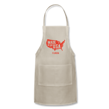 Load image into Gallery viewer, Made in USA Adjustable Apron - natural