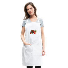 Load image into Gallery viewer, Christmas Gifts Adjustable Apron - white