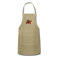 Load image into Gallery viewer, Christmas Gifts Adjustable Apron - khaki