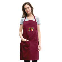 Load image into Gallery viewer, Christmas Gifts Adjustable Apron - burgundy
