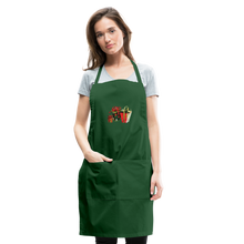 Load image into Gallery viewer, Christmas Gifts Adjustable Apron - forest green