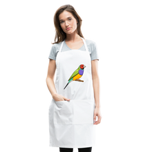 Load image into Gallery viewer, Bird Adjustable Apron - white