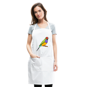 Bird Adjustable Apron - white