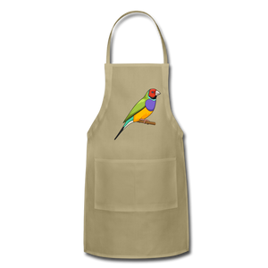 Bird Adjustable Apron - khaki