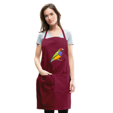 Load image into Gallery viewer, Bird Adjustable Apron - burgundy