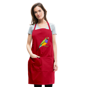 Bird Adjustable Apron - red