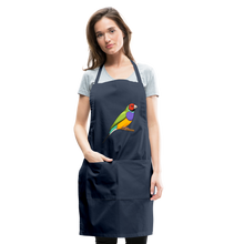 Load image into Gallery viewer, Bird Adjustable Apron - navy