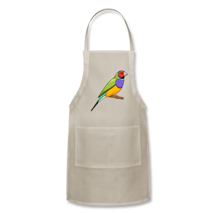 Bird Adjustable Apron - natural