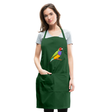Load image into Gallery viewer, Bird Adjustable Apron - forest green