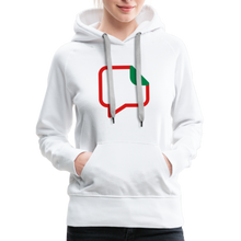 Load image into Gallery viewer, Women's Premium Hoodie - white