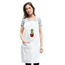 Load image into Gallery viewer, Unisex Money Tree Adjustable Apron - white