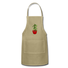 Load image into Gallery viewer, Unisex Money Tree Adjustable Apron - khaki