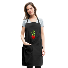 Load image into Gallery viewer, Unisex Money Tree Adjustable Apron - black