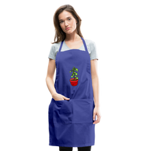 Load image into Gallery viewer, Unisex Money Tree Adjustable Apron - royal blue