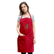 Load image into Gallery viewer, Unisex Money Tree Adjustable Apron - red