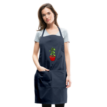 Load image into Gallery viewer, Unisex Money Tree Adjustable Apron - navy