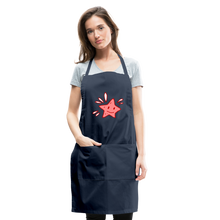 Load image into Gallery viewer, Star Splash Adjustable Apron - navy