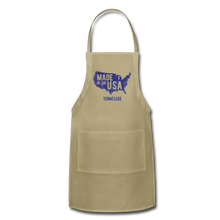 Load image into Gallery viewer, Made in USA Tennessee Adjustable Apron - khaki