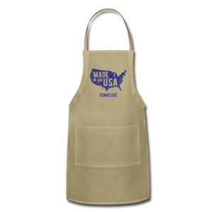 Made in USA Tennessee Adjustable Apron - khaki