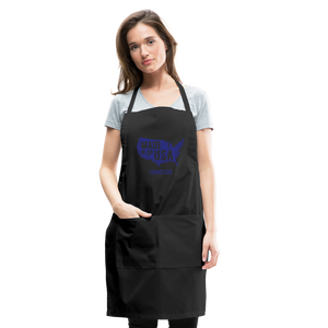 Made in USA Tennessee Adjustable Apron - black