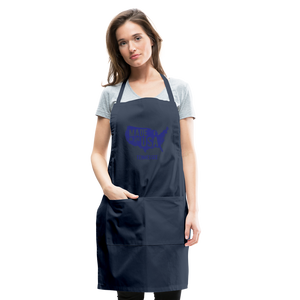 Made in USA Tennessee Adjustable Apron - navy