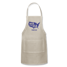 Load image into Gallery viewer, Made in USA Tennessee Adjustable Apron - natural