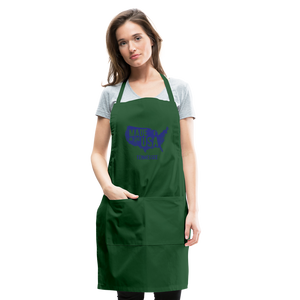 Made in USA Tennessee Adjustable Apron - forest green