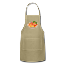 Load image into Gallery viewer, Thailand Shrimp Food Adjustable Apron - khaki