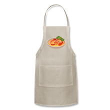 Load image into Gallery viewer, Thailand Shrimp Food Adjustable Apron - natural