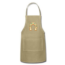 Load image into Gallery viewer, St Paddy Adjustable Apron - khaki
