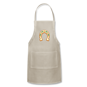 St Paddy Adjustable Apron - natural