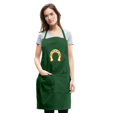 Load image into Gallery viewer, St Paddy Adjustable Apron - forest green