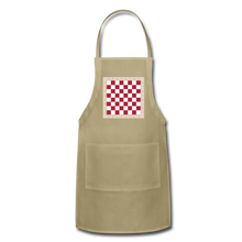 Load image into Gallery viewer, The Chess Board Adjustable Apron - khaki