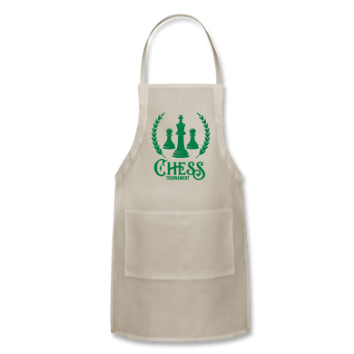 Chess Tournament Adjustable Apron - natural