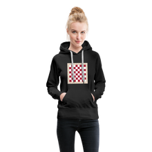 Load image into Gallery viewer, Chess Board Hoodie - black