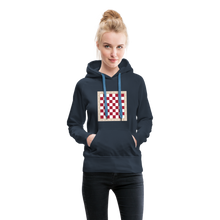 Load image into Gallery viewer, Chess Board Hoodie - navy