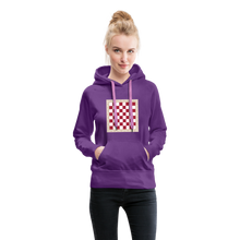 Load image into Gallery viewer, Chess Board Hoodie - purple