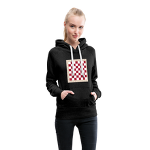 Load image into Gallery viewer, Chess Board Hoodie - charcoal gray